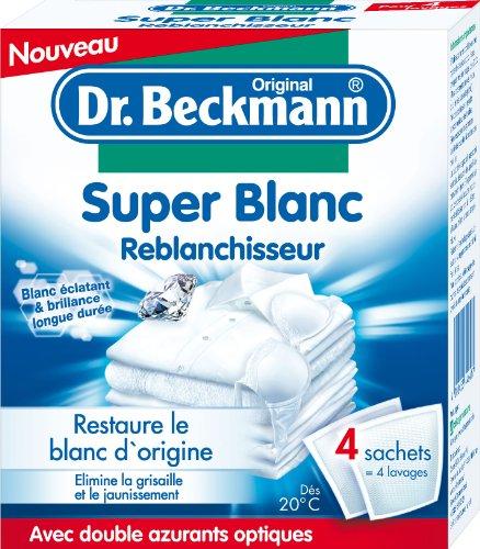 Dr.Beckmann Super Blanc Reblanchisseur 4 x sachets de 40g