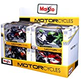 May Cheong Group Moto Collection Édition Spéciale - Véhicule miniature à l'échelle 1/12e - Modèle Aléatoire