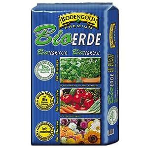 BODENGOLD Premium BIO-Erde 20 Liter NEU Qualitäts-Bioerde aus Bayern !