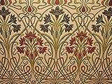 A4Beispiel Kunst Nouveau Juwel Dicke Polsterung Designer Jacquard Vorhang Kissen Verwendung Stoff