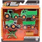 Nikko 9907 Farming Vehicles, Green/Orange