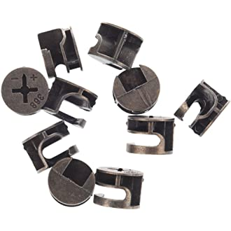 Pack of 1, Black, GN 927//82//M8//–/30//–/B//W Ganter Standard Elements/ /Eccentric Clamps with Screw
