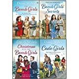 daisy styles collection 4 books set (the bomb girls, the bomb girls' secrets, christmas with the bomb girls, the code girls)
