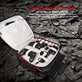 KinshopS PlayStation 4 Aufbewahrung Taschen Robuste dauerhafte tragbare Nylon Taft Reisetasche Videogame Konsole System & Controller Tragetasche für PS4
