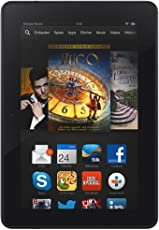 Kindle Fire HDX 7, 17 cm (7 Zoll), HDX-Display, WLAN, 16 GB - mit Spezialangeboten (Vorgängermodell – 3. Generation)