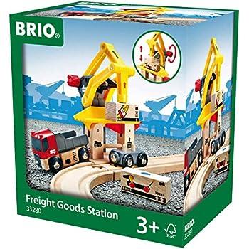 BRIO World  - 33280 - GRUE DE CHARGEMENT DE MARCHANDISES
