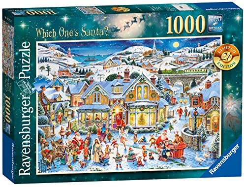 Ravensburger Which One's Santa? 2017 Limited Edition Puzzle, (Kostüm Amazon Schneemann)