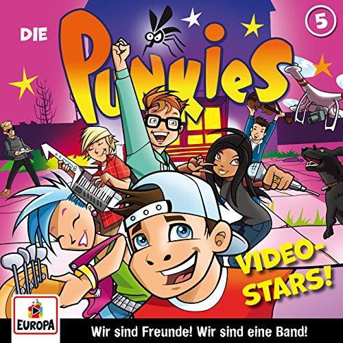 Die Punkies (5) Video Stars - Europa 2017