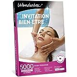 Wonderbox - Coffret cadeau - INVITATION AU BIEN ETRE – 5000 soins du visage, gommage aux agrumes, beautés des mains, accès au