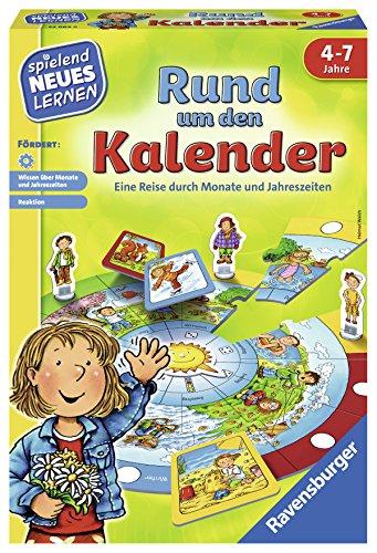 "Ravensburger Kinderspiele 24984\"" Rund um den Kalender Lernspiel"