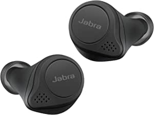 Jabra Elite 75t True Wireless Stereo In Ear Headphones Bluetooth 5 0 28 Hours Battery Life With Charging Case Classic Black Elektronik