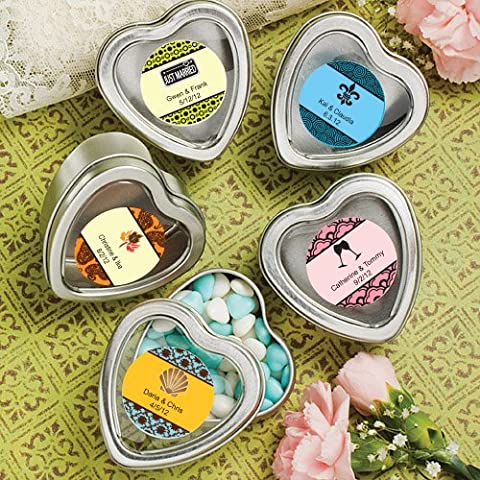 Heart shaped boxes / mint tins