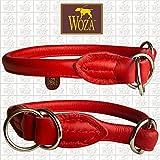 Woza Premium RUNDGENÄHTER WÜRGER Scandinavian 10/50 MIT Stopper Handmade ROT