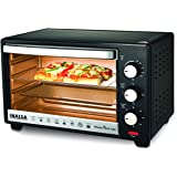 Inalsa MasterChef 16BK OTG with Temperature Selection-1300W, 4-Stage Heat Selection, Includes Baking Pan, SS Grill Tray…