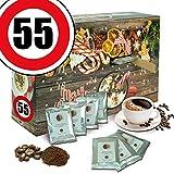 Geburtstagsgeschenk 55. | Advent Kalender Bohnen Kaffee | Weihnachtskalender Damen Weihnachtskalender Bohnen Kaffee Weihnachtskalender Frauen Weihnachtskalender für Männer Weihnachtskalender für Frauen