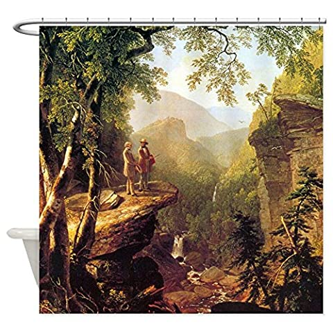 Asher Brown Durand Kindred Spirits - Decorative Fabric Shower Curtain