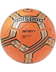 Uhlsport INFINITY LITE 350 MATCH 2.0 - fluo rojo/plata/negro, 5