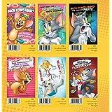 Juego 6Piezas tarjetas Buon Compleanno Tom y Jerry Warner Bros