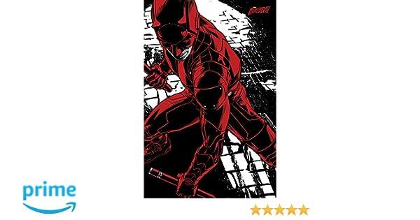 """Multi-colour 61 Pyramid International /""""fight Daredevil Tv Series/"""" Maxi Poster"""