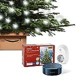 Dein smarter Christbaum: Set bestehend aus Amazon Echo Dot (2. Generation), Schwarz + TP-Link Smart...