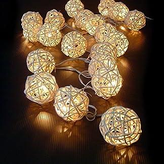 kingtoys® Solar Luces de Navidad Solares Hadas Luces de Cuerda para Exterior,Jardínes, Hogares, Boda, Fiesta de Navidad
