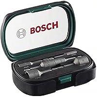 Bosch Home and Garden 2607017313 Bosch 2607017313-Set bricolaje: 6 llaves de Vaso, 0 W, 0 V, Nero