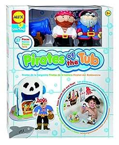 Alex rub a dub pirates of the tub bath toy for Alex co amazon