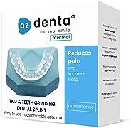 Menthol Aufbissschiene Zahnschutz beim nächtlichen Zähneknirschen Knirscherschiene Zahnschiene 100% ige Zufriedenheitsgarant