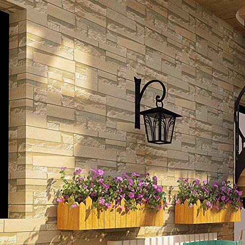 3d brick muster tapete, Dicken vliestapete, Schlafzimmer wohnzimmer hintergrund wand dekorative tapeten-B
