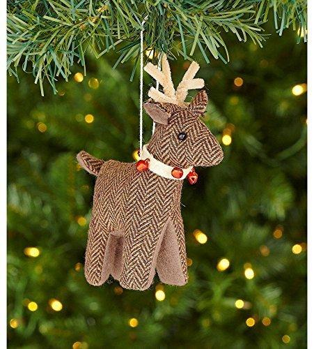 dillards-trimmings-near-and-deer-6-in-tweed-deer-ornament-by-trimsetter