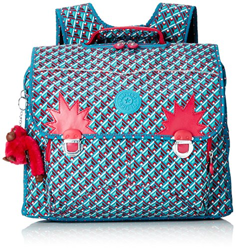 Kipling - INIKO - Mochila mediana - Summer Pop Bl - (Multi color)