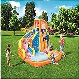 WJSW aufblasbare Spielwaren Sommer-übergroße Wasserrutsche-aufblasbarer Swimmingpool,...