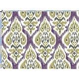 Tela de tapicería, tela de tapicería, tela de tapicería, tela, tela de la cortina, tela - Khalid - gran Kilim Oriental tela hecha de algodón y lino