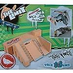 Togather® Mini Finger monopatín Rampa Parque Kit dedo Junta Sitio Patín Ultimate Sports Parts 5PCS y 2PCS Juntas Finger
