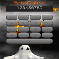 EctoCalc Animated Halloween Calculator