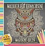 Malbuch für Erwachsene: Magische Eule...