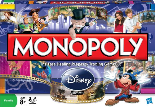 Monopoly Disney Edition by Hasbro English Manual
