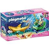 Playmobil Magic 70097 Koning Der Zeeën Met Haaienkoets