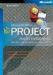 Microsoft Office Project pour l'entre...
