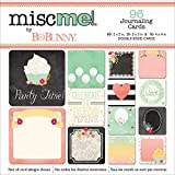 BoBunny Misc Me Pocket Squares Journaling Cards 96/Pkg-You're Invited, Other, Multicoloured