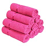 #5: Story@Home 100% Cotton Soft Towel Set Of 10 Pieces, 450 GSM - 10  Face Towels  - Pink