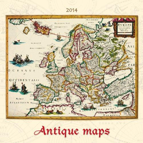 Antique Maps Bildkalender 2014