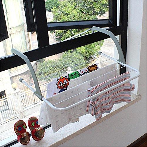 Outdoor zusammenklappbar Rack für Kleidung Handtuchtrockner Rack Kleiderbügel Regal Trocknen Storage Heizkörper Metall Haken groß Clip Hot -