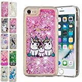 E-Mandala Coque Apple iPhone 6S Plus 6 Plus Paillette Liquide Brillante Licorne...