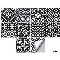 20x20cm Vinyle Ts028 alwayspon Lot de 10 Autocollants pour carrelage Mural pour d/écoration de Maison