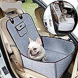 BeesClover Creative Haustier-Autositz-Abdeckung für Welpen, Haustier-Zubehör grau