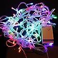 10M Bunt 100 LED Lichterkette Strip Streifen Party Weihnachten Au?en Innen Weinachts Beleuchtung von bestmall - Lampenhans.de