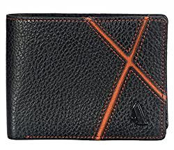 Adamis Leather Mens Wallet W311 In Black