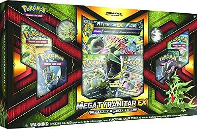 """Pokémon Pok80296Mega """"Tyranitar-ex"""" Premium Jeu de cartes à collectionner Collection Box"""