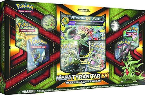 "Pokémon Pok80296 Mega ""Tyranitar-ex"" Premium Jeu de cartes à collectionner Collection Box"